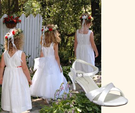 Girls Wedding Footwear